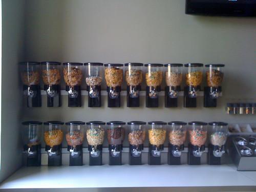 Cereal Bar at Revive Energy Bar, Memphis, Tenn.