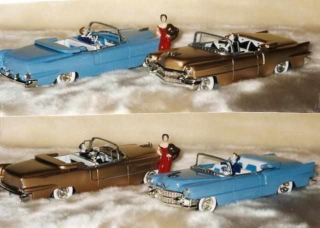 1955 cadillac eldorado 1956 biarritz modelcar amt revell 132scale plastickit cadillacconvertible revellmodel revellamt