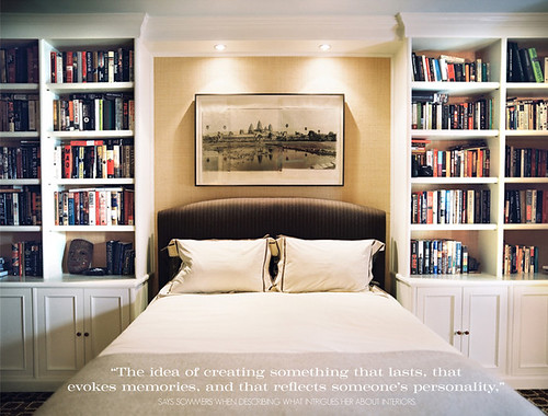 Bed Surrounded By Books