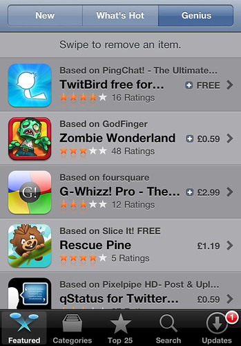 iPhone 4 - Appstore