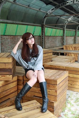 フリー写真素材, 人物, 女性, アジア女性, 眼鏡・メガネ, 台湾人,