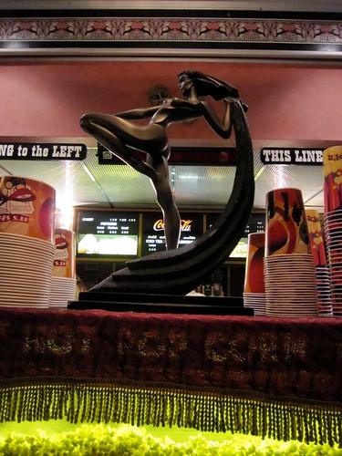 Roxy Theatre Northampton PA Art Deco Statuette