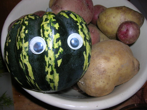 Squash with googlies