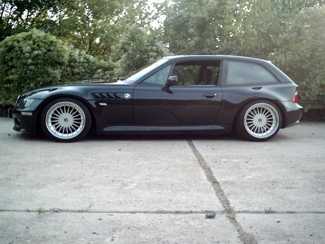 1999 Z3 Coupe | Jet Black | Black | Aplina Wheels