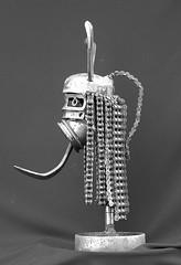 rasta profil (pedrobigore) Tags: sculpture chien table bateau poisson métal fer masque acier danseuse récup volant bestioles récupération soudure soudeur féraille akouma hipocamppe