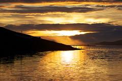 In Fáskrúðsfjörður at sunrise this morning (*Jonina*) Tags: sea sky reflection clouds sunrise iceland ísland ský himinn hafið speglun sólarupprás fáskrúðsfjörður faskrudsfjordur absolutelystunningscapes