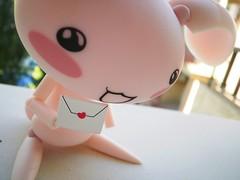 Sending all my love to you (Rocky Raccoon:3) Tags: cute love toys kawaii figure jun revoltech