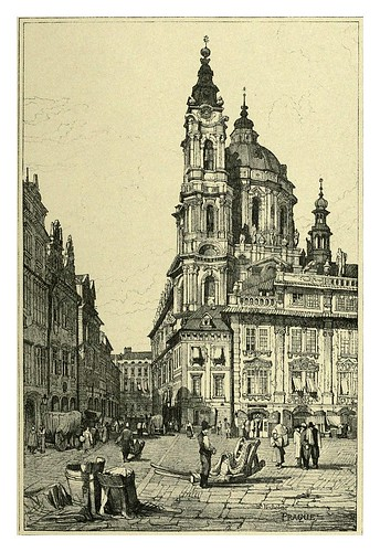 038-Praga II-Sketches by Samuel Prout in France Belgium….1915