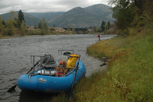 Floating The Clark Fork, Montana