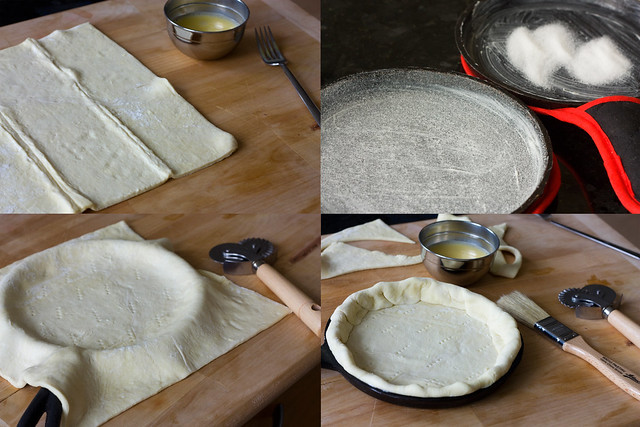 Puff Pastry Pizza Crust