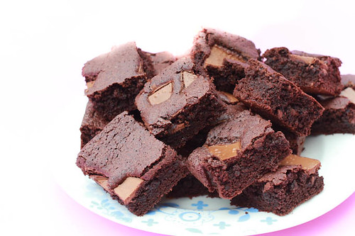 Fudgy Rich Brownies-2