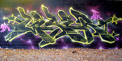 Silent but Deadly (GESER 3A) Tags: green digital graffiti blog nikon paint fuji olympus gas 3a explore crew prey buffet capture frontpage rath hemp belton kem ges molotow kem5 kems geser