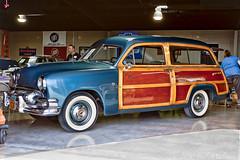 Vintage 51 Ford Woody Wagon (Paul A Valentine) Tags: usa cars ford canon texas woody porsche decatur autos antiqueautos automobiles carshow vintagecars sportscars racecars showcars woodywagon 1dmkiii