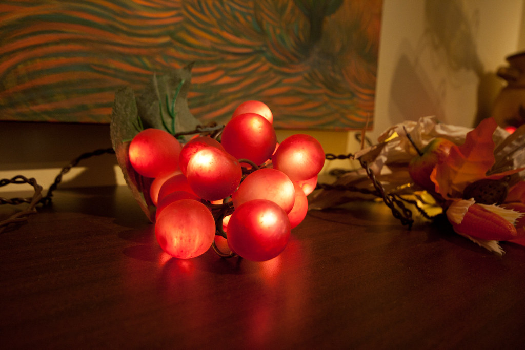 Illuminated Grapes