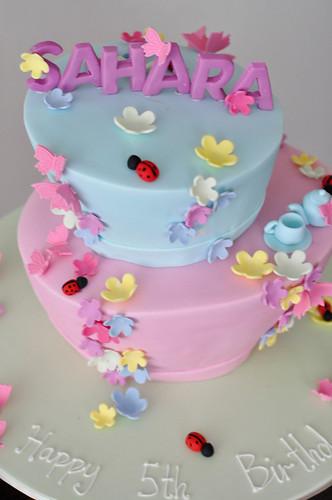 garden madhatter cake
