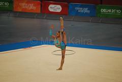 ABDUL WAHID Nur Hidayah - Rythmic Gymnastics Delhi 2010
