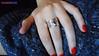 Anel de prata com turmalina (omgbazar) Tags: moda bolinhas omg infinito colar pulseira loja bazar ouro borboletas anel prata feminino acessórios bijux marfin marcassita