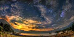 (/\ltus) Tags: sunset japan pentax  hdr k7  4xp motosuko japanhdr justpentax lakemotosuko mtfujilakearea