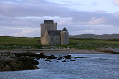 Breachacha Castle on the Isle of Coll