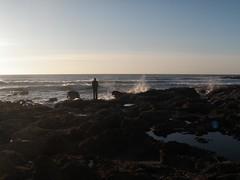 Beach View (dandlymambly) Tags: ocean autumn fall beach oregon coast october hiking stephen tidepools tidal 2010