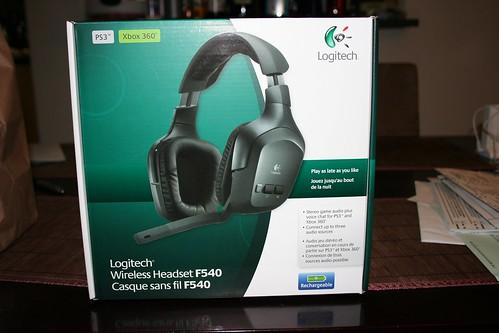 Logitech Wireless Headset F540