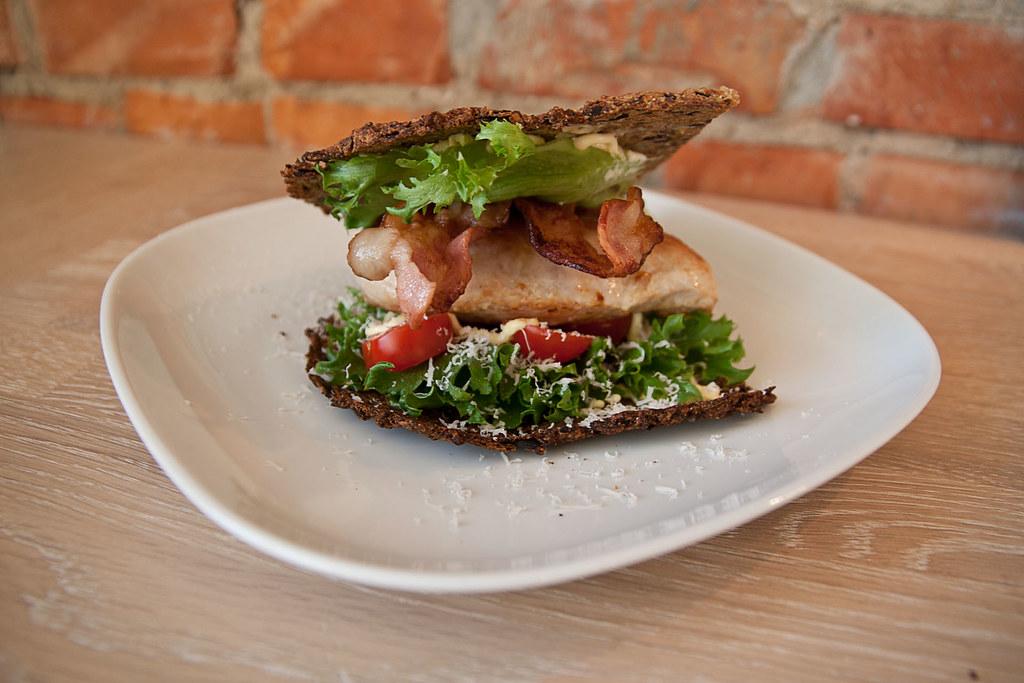 Kylling-sandwich