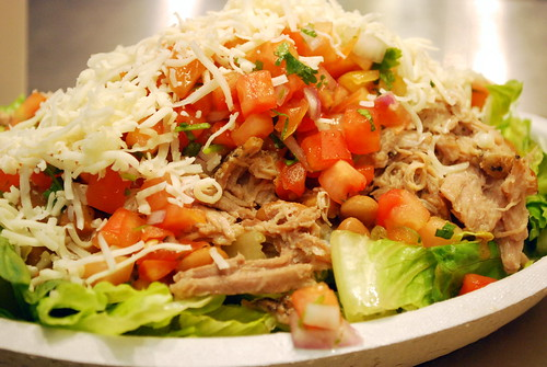 Salad with Carnitas