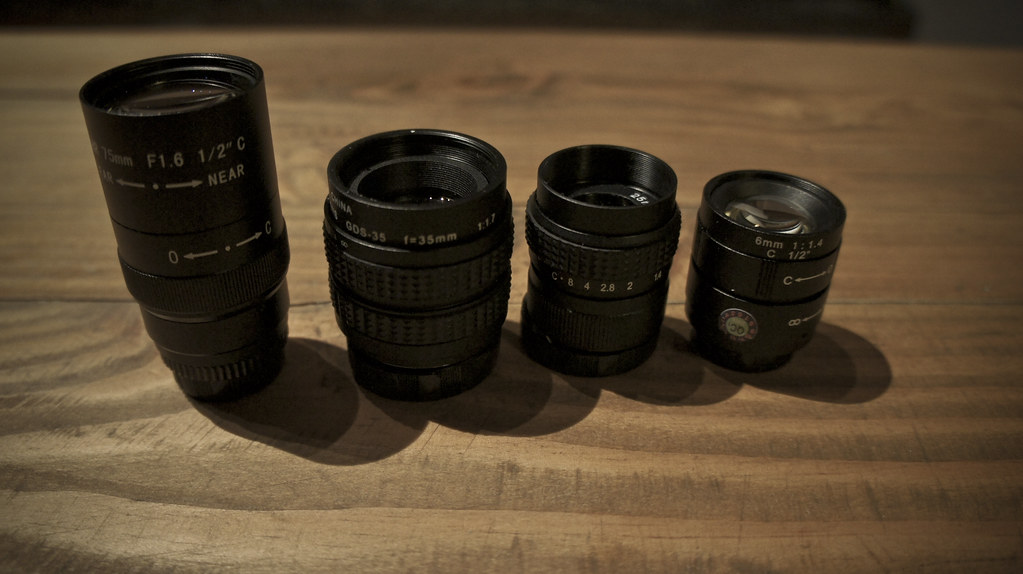 Sony Nex-5 Custom Lens