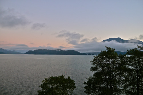 Harrison Lake, Morning