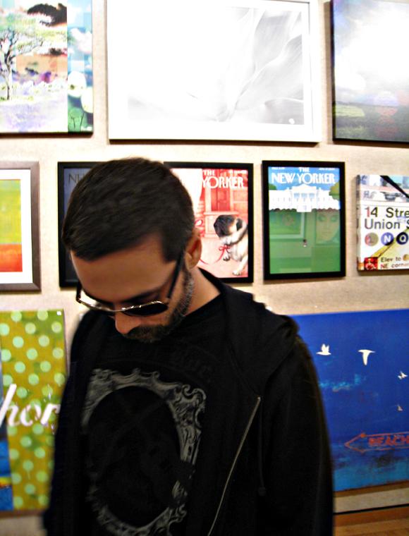 zgallerie art section - husband