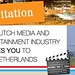 Indian Media and Entertainment Delegation visits Amsterdam Creative Companies @ OneBigAgency