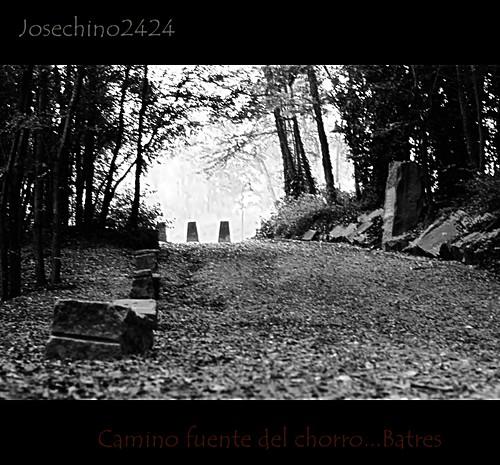 Camino  fuente del chorro-  Batres.
