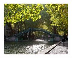 Paris (@lain G) Tags: paris france canal nikon eau pont iledefrance canalstmartin passerelle d90