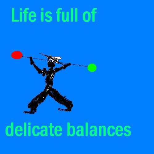 delicate balances