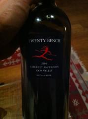 2004 Twenty Bench Cabernet Sauvignon