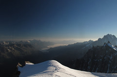 View from Aiguille Du Midi, Chamonix (TomLiaPhotography) Tags: mountains alps chamonix aiguilledumidi