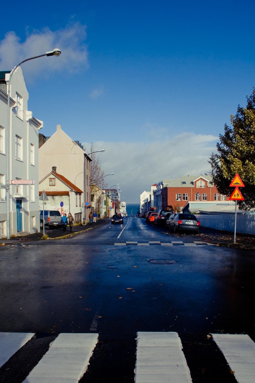 Street in Reykjavík
