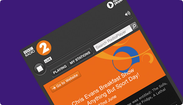 radioplayer demo bbc radio 2
