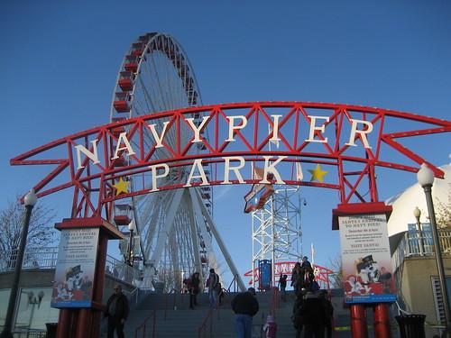 Navy Pier.