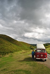 Gogbatch (gobbie-r) Tags: sky vw clouds shropshire jo hills campervan gogbatch littlecough