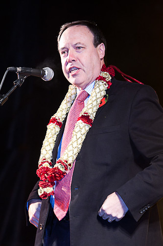 Nigel Dodds MP MLA speaking at Diwali & Samhain