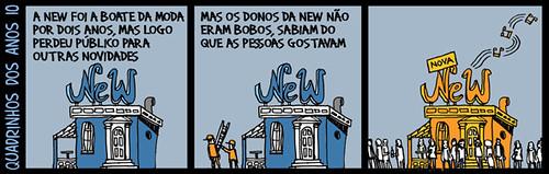 Quadrinhos dos anos 10 - André D.