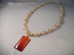 SD181 by Smoke Designs (SmokeDesigns) Tags: handmade jewelry knitted beading wirework smokedesigns