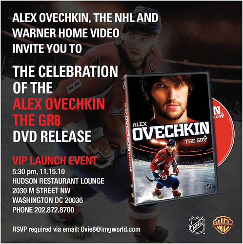 Ovechkin DVD Release