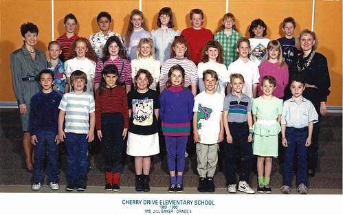 4th grade class 1989-90