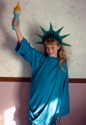 Statue of Liberty Halloween 1989