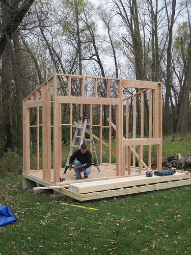 shed day two four walls