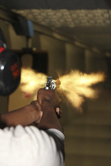 Muzzle Flash (janniswerner) Tags: man male guy training fire gun shoot shot arm flash explosion 2nd flame pistol guns shooting practice shoots revolver handgun range pistols muzzle firing firearm firearms discharge armed fired amendment 2ndamendment handguns muzzleflash revolvers