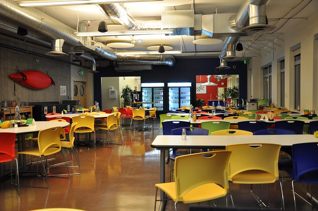 google Seattle, dining room