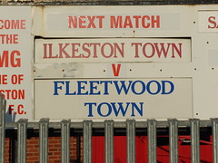 Ilkeston Town F.C.  :  One Match Nearer the End -  2010 (Lenton Sands) Tags: dissolved fleetwoodtown newmanorground ilkestontownetc ilkestontownfootballclubltd